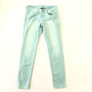 American Eagle Skinny Mint Green Jeans